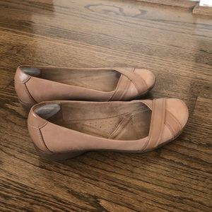 Naturalizer Nariko Taupe Leather Loafers -7.5M